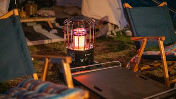 ランタンとキャンプ